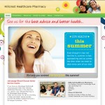 Hillcrest Pharmacy Website Homepage