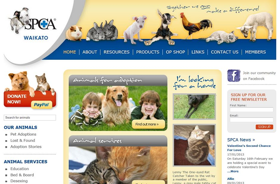 SPCA Website