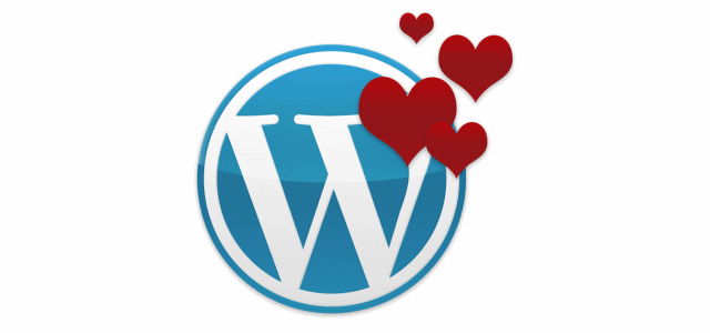 Wordpress website love