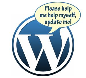 please help me to help myself wordpress updates