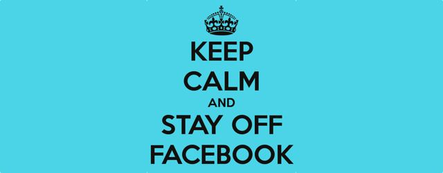 keeep calm and stay off social media