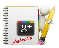 google authorship notepad and pen