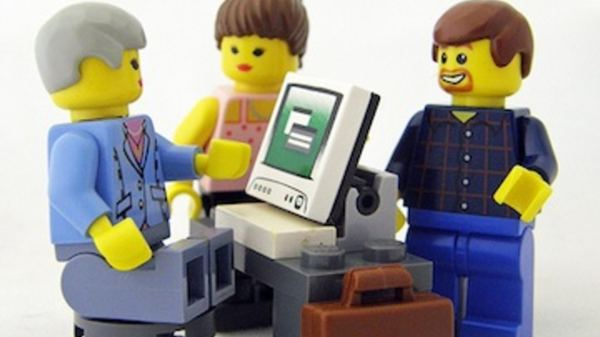 Lego people rank higher on google