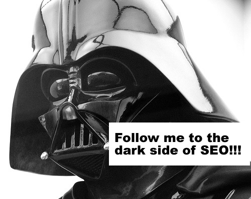 darth vader black hat seo mistakes