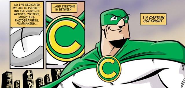 captain copyright cartoon
